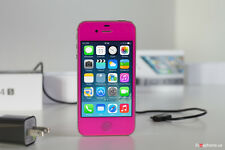 iPhone 4s-8GB (Gsm Unlocked) Custom Rose Straight talk Metro pcs Cricket