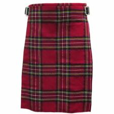 Vêtements traditionnels d'Europe rouges en acrylique de Écosse
