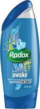 Radox gel de douche pour hommes 250ml x 6 bouteilles