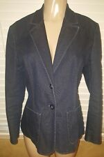 Marks and spencer 16 Jeans Fitted Stretch Blazer. NWOT!