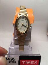 Timex T21872, Women's Gold Tone Cavatina Expansion Watch, T218729J-R11
