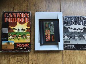 Cannon Fodder Jaguar Game! Complete! Look In The Shop!