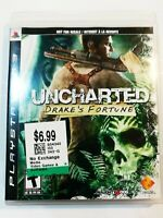 Uncharted: Drake's Fortune PlayStation 3 PS3 VG