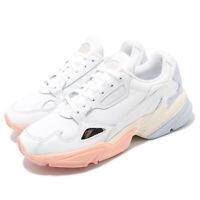 adidas Originals Falcon W White Blue Pink Womens Casual Shoes Sneakers EG8141