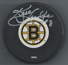 Ken Hodge Sr.  Boston Bruins  Autographed  Souvenir Hockey Puck