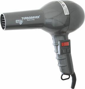 ETI Turbodryer 2000 Professional Salon Hair Dryer Gunmetal