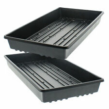 1020 Trays No Holes, Heavy Duty for Microgreens, Seed Propagation Multiple Qty's