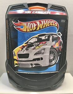 Hot Wheels - Carry Storage Case - Hold 100 Cars - Rolling Wheels - Fits Matchbox