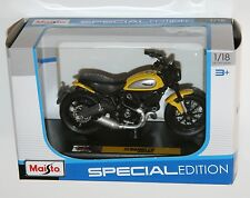 Maisto - DUCATI SCRAMBLER - Motorbike Model Scale 1:18