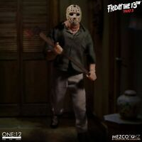Friday the 13th Part III One:12 Collective Jason Voorhees Action Figure Mezco -