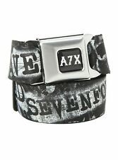 AVENGED SEVENFOLD DEATH BAT SEATBELT BELT by Buckle Down NWT