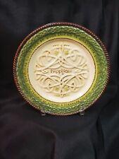 Irish Celtic Happiness Ceramic Plate With Irish Blessing Quote Grasslands Road