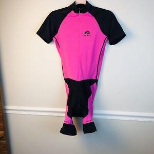 Womens viler raglan  Trilogy Eos Short Black Pink Cycling Large Padded Seat