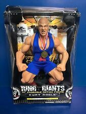 "KURT ANGLE 2005 Jakks WWE RING GIANTS 14"" action figure (13 points articulation)"