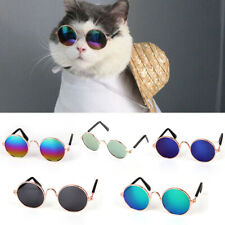 Funny Dog Cat UV Sunglasses Eye Protection Sun Eyewear Wind Puppy Pet Glasses