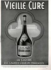 ▬► PUBLICITE ADVERTISING AD Liqueur vieille cure Wilquin