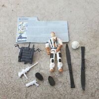 Vintage GI Joe Figure 1988 Blizzard complete with file card