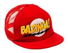 Big Bang Theory Bazinga Red Snapback Baseball Cap