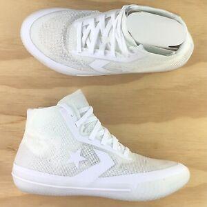 Converse All Star Pro BB Hi Top Basketball Triple White Shoes 168132C Multi Size