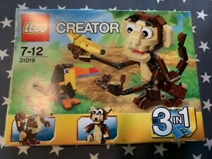 Lego Creator 31019 3in1 Forest Animals Used/boxed (100% Complete)