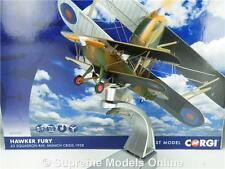 CORGI HAWKER FURY AA27302 MODEL AIRCRAFT 1:72 SCALE AVIATION ARCHIVE K8Q