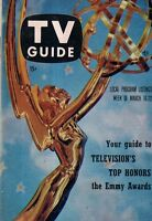 1957 TV Guide March 16 - Emmys Issue; Ray Anthony; Barbara Hale; Hemo; H Morgan