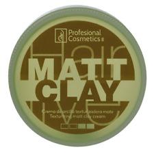 Professional Cosmetics Matt Clay MATT WAX STYLING CREAM CERA haarwax esmiswiss