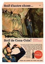 RECORTE DE PRENSA REVISTA O PERIÓDICO PUBLICIDAD SOIF DE COCA-COLA COCACOLA VER