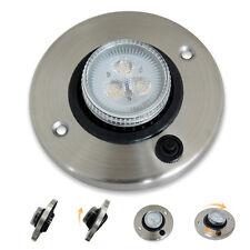 2w LED Leselampe Einbauleuchte 12v Wohnmobil Deckenlampe Innenraumbeleuchtung