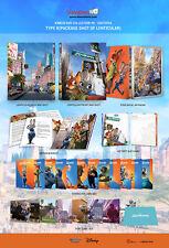 Zootopia 3D + 2D Blu-ray Steelbook Lenticular Fullslip (Kimchidvd Exclusive)