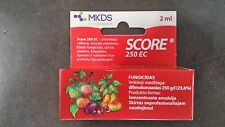 2 ml SCORE 250EC FUNGICIDE HEALING/PROTECTIVE SCAB, MILDEW, BLIGHT HIGH QUALITY