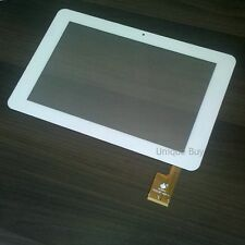 "10.1"" inch Touch Screen Digitizer Replacement Sanei N10 Dual Core White TPC0323"