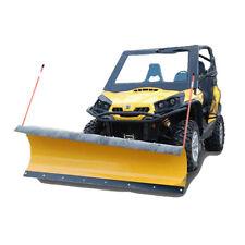 """Hisun Hs500 / Hs700 72"""" Pro Series Utv Snow Plow Kit - Pushtubes - Mount"""