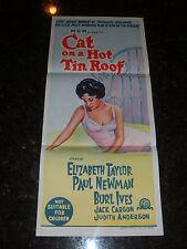 CAT ON A HOT TIN ROOF R-1966 Australian Daybill, C8.5 Very Fine/Near Mint