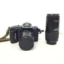 Nikon F-401 AF Film Camera Japan & Additional Lens #460