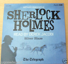SHERLOCK HOLMES - SILVER BLAZE READ BY DEREK JACOBI AUDIO CD THE TELEGRAPH PROMO