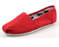 Hot  Women Men's Shoes Slip-on Casual Flats Solid Canvas Leisure Loafer Shoes
