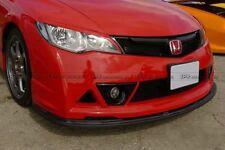 Front Lip Under (3pcs) For Honda 06-11 FD2 Civic Mugenn RR Carbon Fiber