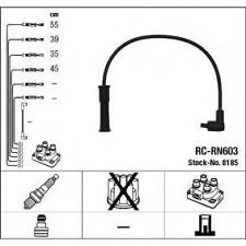 Cables bujia encendido NGK8185 - RC-RN603 - Ignition cable kit - RENAULT