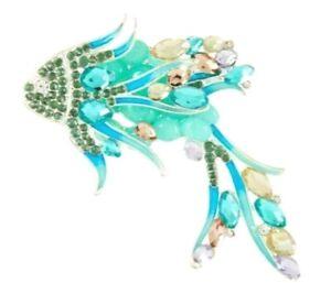 Silver Jewellery Starfish Sailor Sea. Shell Mermaid /& Boat Wheel Nautical Seaside Inspired Pin Brooch Seahorse Silver Pin Brooch