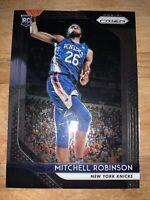 2018-19 Panini Prizm #227 Mitchell Robinson Rookie Card