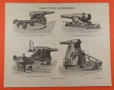 Weberei Maschinen Webstühle Stich 1892 alter historischer Druck antike Bildtafel