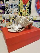Donald J Pliner Women's Platform Sandals /Shoes Size 5 Platino Vint Lizard NIB