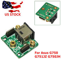 DC Jack Power Board Asus ROG G751JZ-T4023H G751JT-CH71 2014 G750JZ-QB71 US STOCK