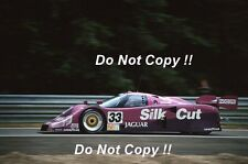 Warwick & Nielsen & Wallace Silk Cut Jaguar XJR-12 Le Mans 1991 Photograph 2