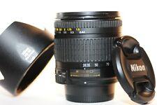 Nikon ED AF G Nikkor 28-200mm f/3.5-5.6 FX lens HB-30 NICE for F100 DF D750 D850