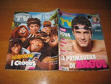 TV SORRISI E CANZONI=2013/10=RAOUL BOVA=RAFFAELLA CARRA'=MICHELE PLACIDO=