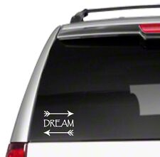 Dream with Arrows Car Vinyl Sticker Decal aspire big future believe *G5*