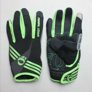 Road MTB Bike Racing Full Finger Glove Cycling Sport Practical Gloves Green M