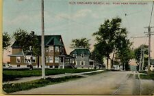 1908 Street View Road near Town House Old Orchard Beach Maine ME Postcard B11